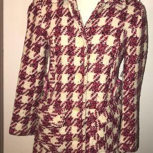 Vintage Moda International coat size small